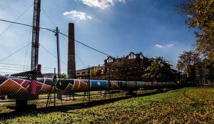 100 liter festék 200 méter távhővezetéken