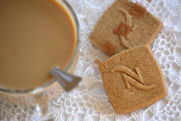 32 kávé karácsonyig belga keksszel (Fotó: Myreille)