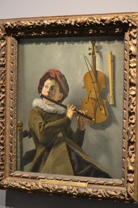 A holland arany évszázadból kb. 5000 festőt ismerünk, ebből 25 volt nő, közülük az egyik Judith Leyster. Sorsa már akkor is női sors volt. Igéretes tehetség volt, hozzáment egy másik festőhöz, szülte a gyerekeket és a festészet a sokadik lett, amire már nem jutott ideje. Judith Leyster: Furulyázó fiú