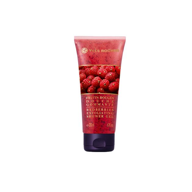 Radírozó hatású tusfürdő Piros gyümölcs/Yves Rocher