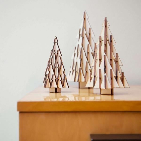 Az OdenneBoom különböző méretekben készül az asztaldísztől a hatalmas karácsonyfáig.