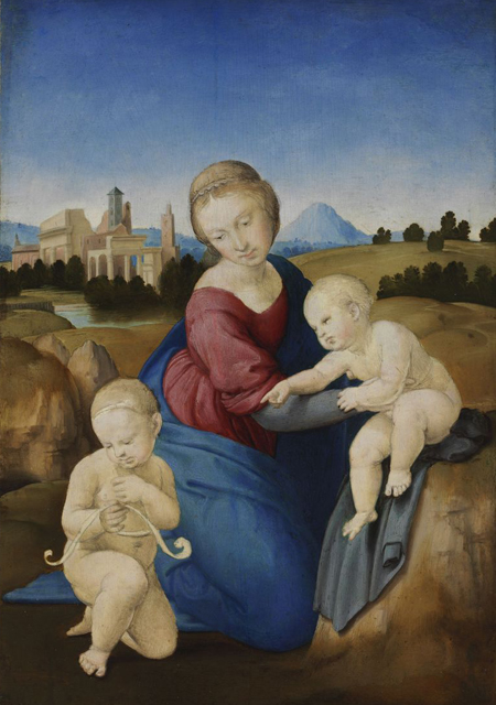 Raffaello Esterházy Madonnája a Szépművészeti Múzeum gyűjteményének része