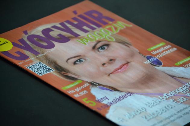 Gyógyhír magazin 2014. decemberi szám: Myreille és a moksha.hu a címlapon.