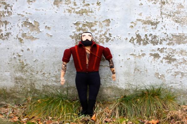 Lumberjack/Design: Mimi Kirchner - Tombol a favágószexuális őrület. Imádom!