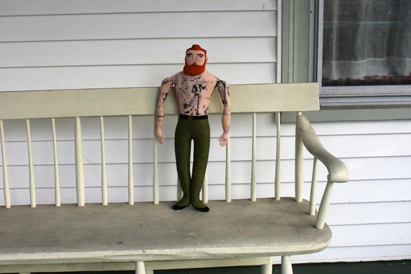 Marco's Ginger man/Design: Mimi Kirchner