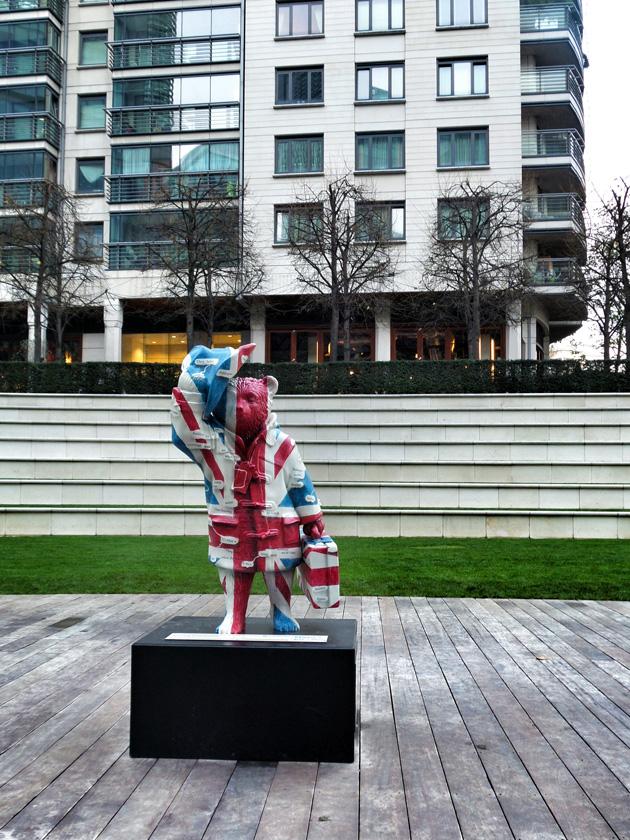 Texting Paddington no2 / Sheldon Square (Westminster Academy)