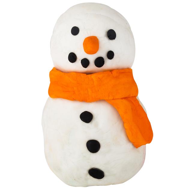 Aki ügyes, ilyen szép hóembert is csinálhat. - Snowman FUN/Lush (Fotó: Lush)