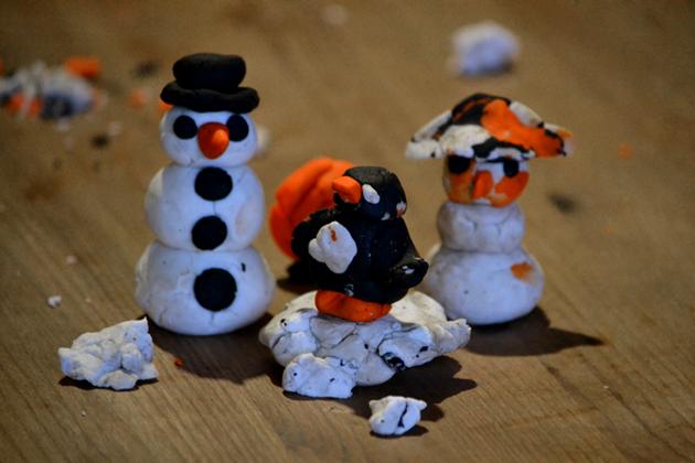 Ennyit a kézügyességünkről! - Snowman FUN/Lush (Fotó: Myreille)