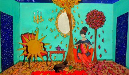 Hét festmény Somogyi Réka naplójából