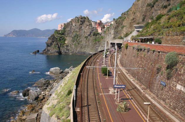 Ilyen környezetben az sem baj, ha kicsit késik a vonat
