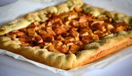 Csak 5 hozzávaló: rusztikus almás pite