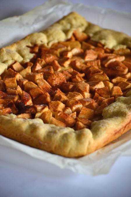 Rusztikus almás pite (Fotó: Myreille)