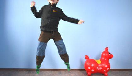 Vasárnapi DIY: újraélesztett gyereknadrág