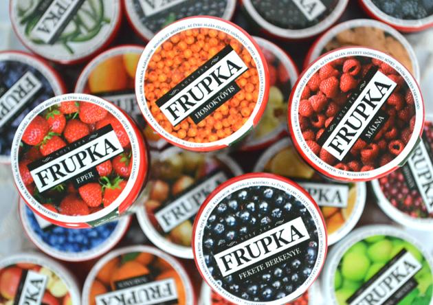 Húszféle ízben kapható a Frupka sült tea. (Fotó: Myreille)