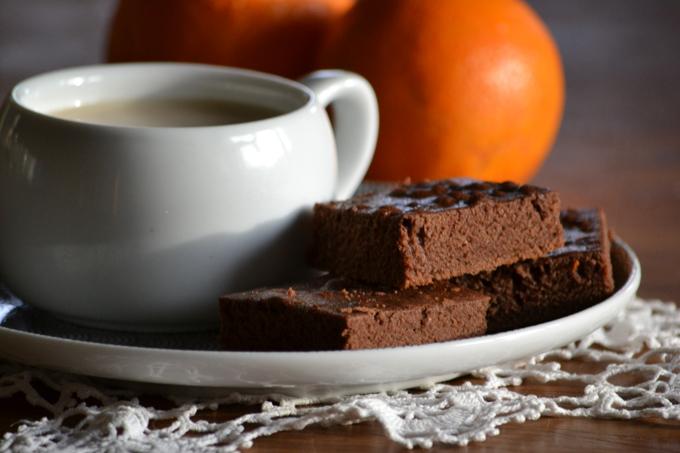Narancsos-gyömbéres-kakaós süti (Fotó: Myreille)