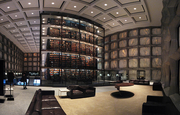 Beinecke Rare Book & Manuscript Library, Yale University, Connecticut, USA (Fotó: Michael Marsland)