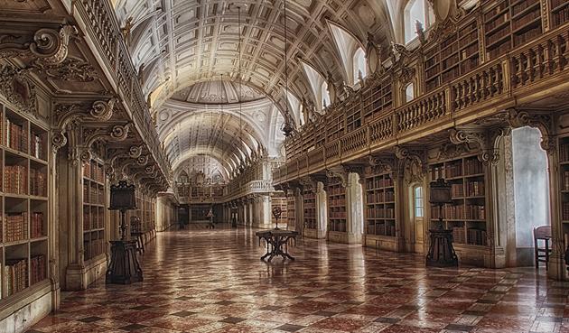 Palácio Nacional De Mafra, Portugal (Fotó: tcidraes)