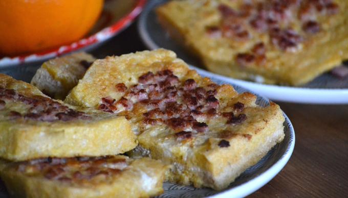 Szalonnás bundás kenyér (Fotó: Myreille)