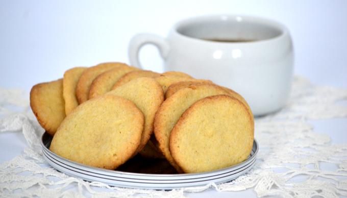 Egyszerű és gyors vaníliás keksz