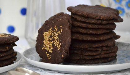 Házi kakaós keksz egyszerűen, kétféle változatban