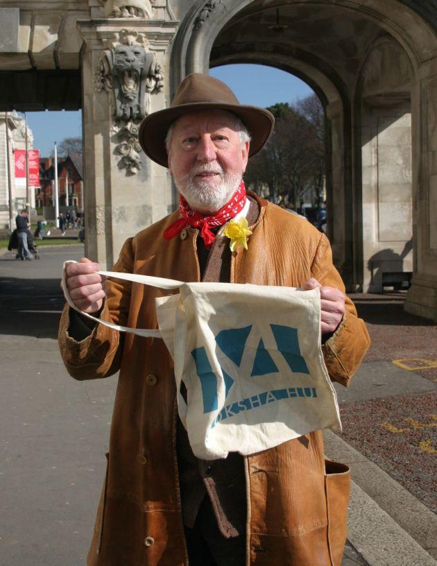 A Moksha-táska nem tévedésből került a walesi úriember kezébe (Fotó: Vidra)