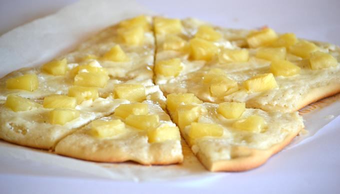 Édes pizza avagy a vaníliás-ananászos lepény (Fotó: Myreille)