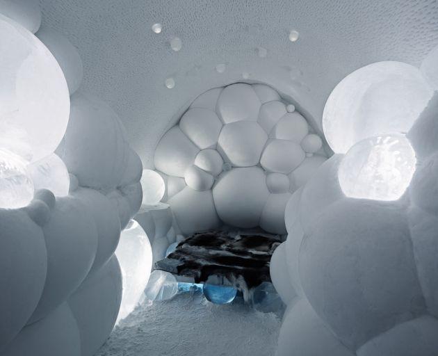 Szőrme azért van a jégpriccseken
