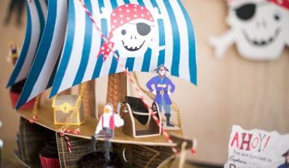Emlékezetes születésnap kalózokkal, dömperekkel
