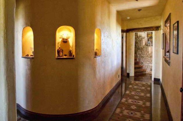 A falakat színezni is tetszés szerint lehet természetes anyagokkal