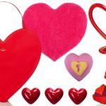 Pinktől a vörösig: két tucat szív Valentin-napra