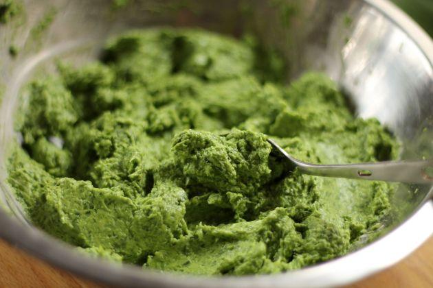 Ilyen szép smaragzöld massza lesz/Fotó: Vidra