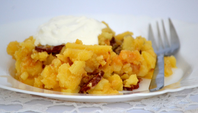 Rakott krumpli sietősen serpenyőben (Fotó: Myreille)