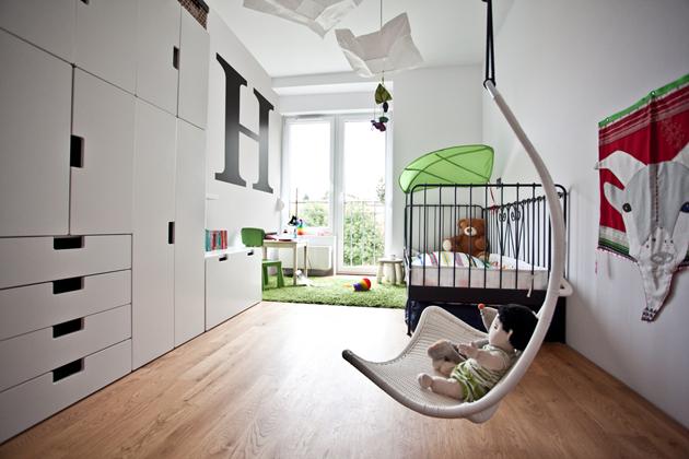 A gyerekszoba mintha IKEA katalóguskép lenne./Fotó: mode:lina architekci