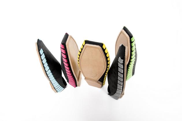 A PikkPack cipők a marhabőrnél jóval erősebb és puhább, 2 mm vastag vizibivalybőrből készülnek.