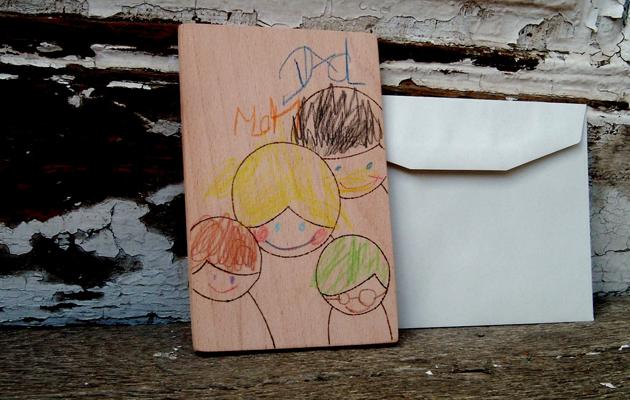 """""""Apa, anya, gyerekek, csupa szív szeretet""""/Fotó: NKDesign"""