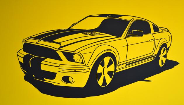 A fiúnk megkapta az első Ford Mustang-ját! (Fotó: Myreille)