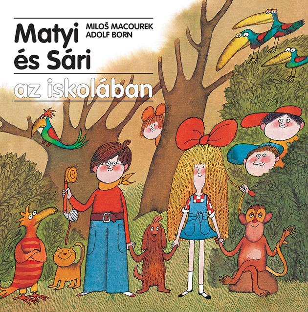 A razfilmsorozat alapján készült könyvsorozat első kötetét a Matyi és Sári az iskolában-t a Pagony adta ki idén tavasszal és már előkészületben a Matyi és Sári vakáción, a Matyi és Sári a világ körül és a Matyi és Sári a történelemben.