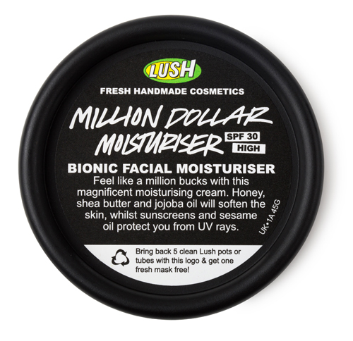 Million Dollar arckrém - SPF30/Lush
