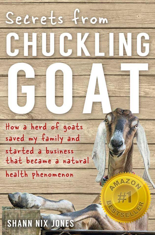 Életmentő kecske a borítón