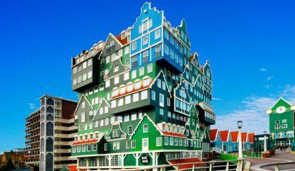 Hollandia egyik legkülönlegesebb szállodája