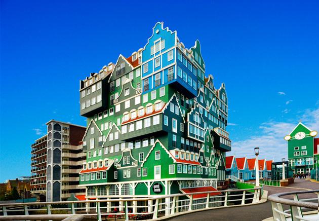 A szálloda 12 percre Amszterdamtól