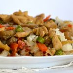 Kínai egyszerűen: zamatos csirkemell sok zöldséggel