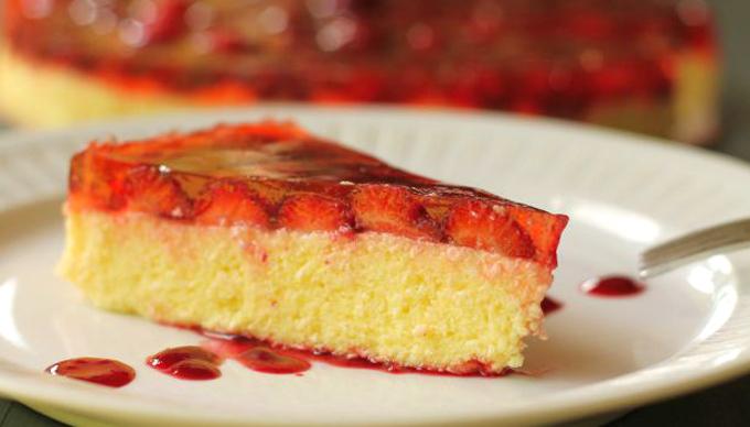 Szülinapi nemistorta: hűs édesség eperből és túróból (Fotó: Vidra)