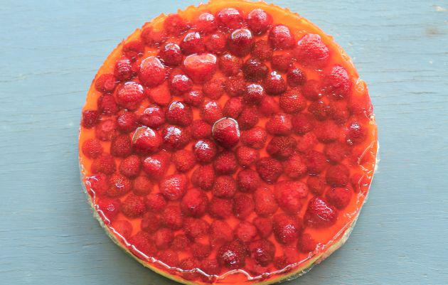 Hűs nyári édesség: sütés nélküli epres túrótorta (Fotó: Vidra)