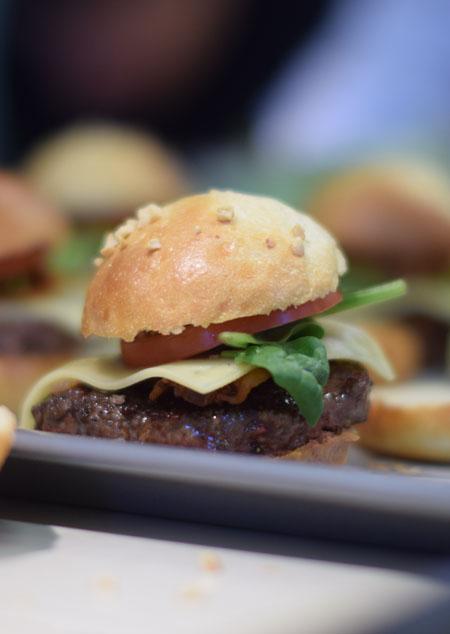 Hamburger/Fotó: Panyi Zsuzsi