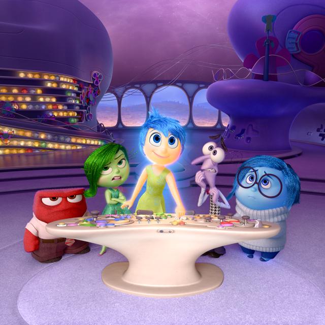 Agymanók (Inside Out). Ridley-t, mint minden embert az érzelmei vezérelenk. Ők az Agymanók. Harag (Anger), Undor (Disgust) , Derű (Joy), Majré (Fear) és Bánat (Sadness). -  Disney - Pixar