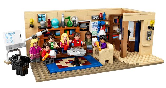 Leonard és Sheldon nappalija