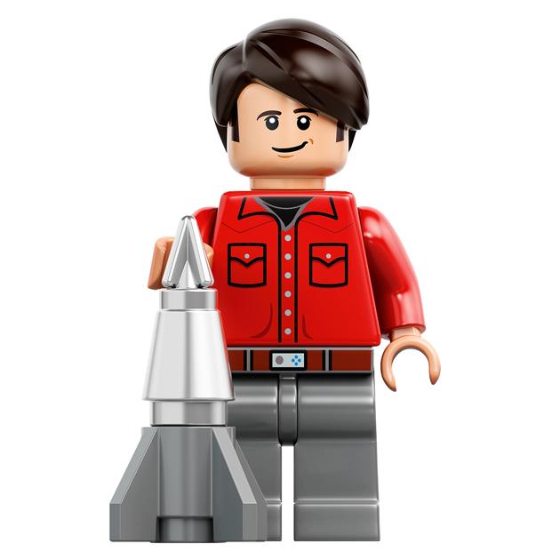 Howard Wolowitz - 21302 LEGO Big Bang Theory