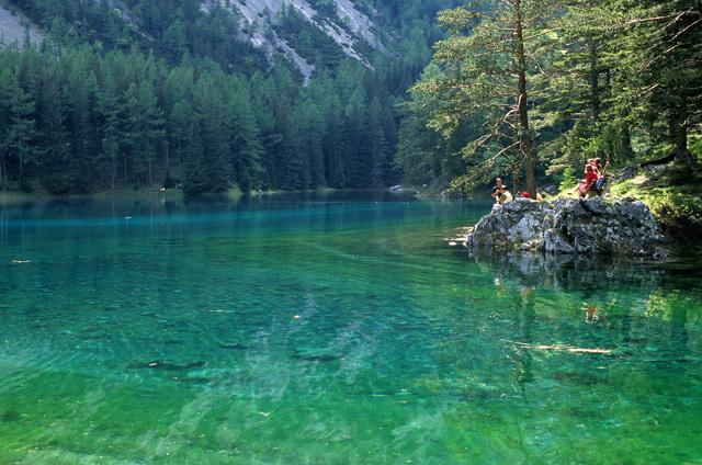 Ausztria Legszebb Tava Minden ősszel Kisz 225 Rad Moksha Hu