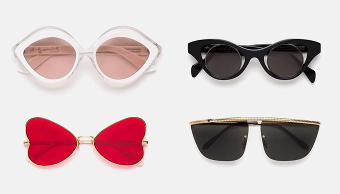 Andy Warhol napszemüveg Retrosuperfuture feldolgozásban.